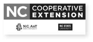 N.C. Cooperative Extension Logo_Stacked grayscale