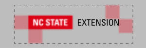NC State Extension_Logo spacing graphic