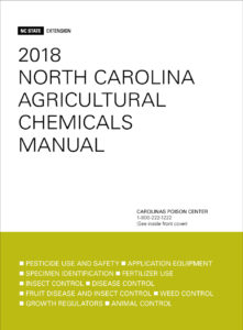 2018 N.C. Ag Chem Manual cover