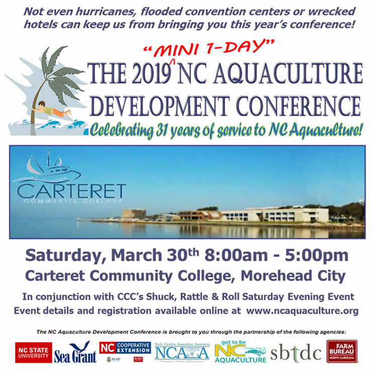 Aquaculture Development Conference flyer image