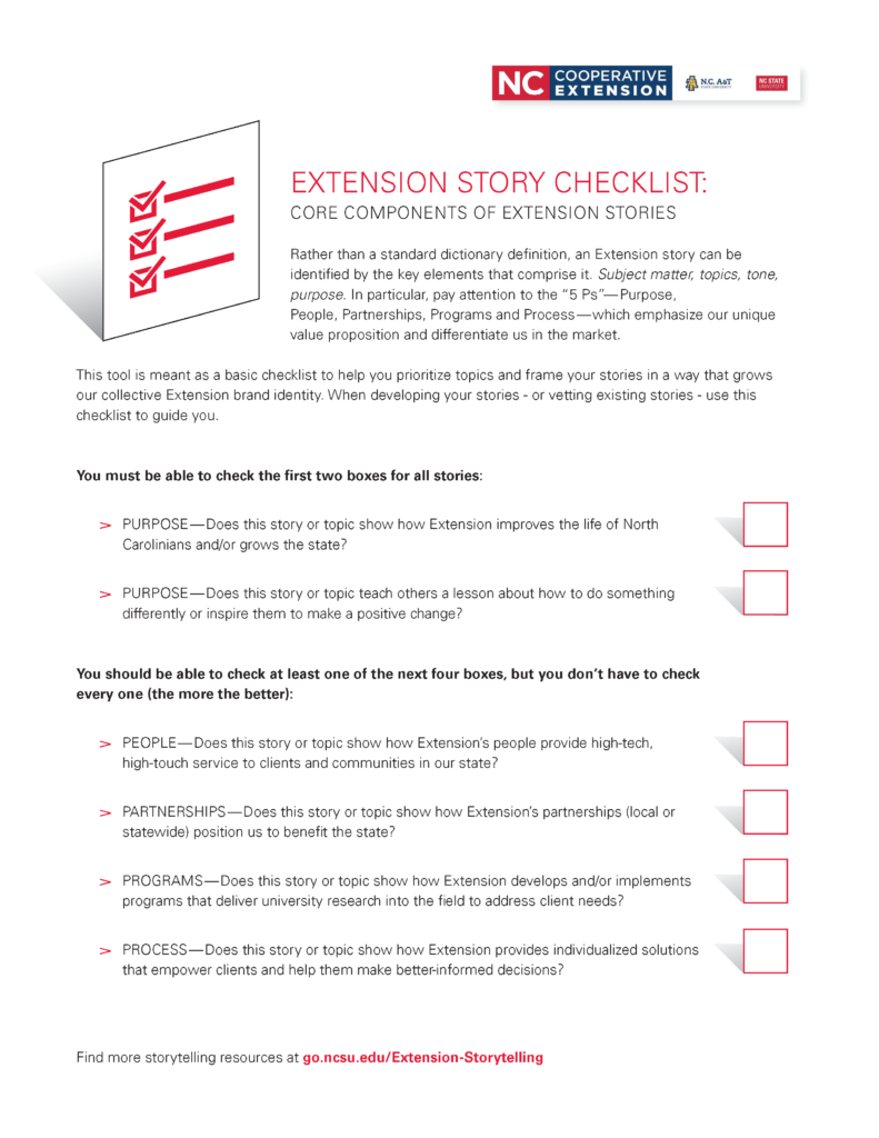 Extension Storytelling | NC State Extension