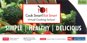 Cover photo for Cook Smart Eat Smart Program Offered Virtually