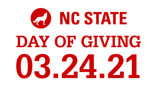 NC State Day of Giving 2021 event logo