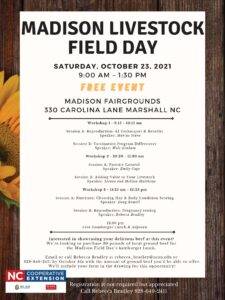 Cover photo for Madison Livestock Field Day
